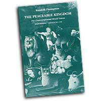 Randall Thompson : Peaceable Kingdom : Mixed 5-8 Parts : 01 Songbook : Randall Thompson : 1730
