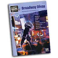 Various Arrangers : Broadway Divas - Female Voice : Solo : Songbook & CD : 00-26499