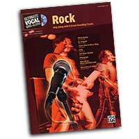 Various Arrangers : Rock Songbook - Male Voice : Solo : Songbook & CD :  : 00-26520