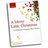 Jerry Rubino (editor) : A Merry Little Christmas : SATB : 01 Songbook :  : 0193866390