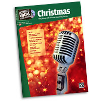 Various Arrangers : Ultimate Vocal Sing-Along: Christmas : Solo : Songbook & CD :  : 038081335957 : 00-31418