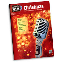 Various Arrangers : Ultimate Vocal Sing-Along: Christmas : Solo  : Songbook & CD : 038081335964  : 00-31421