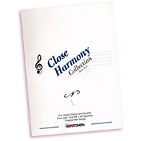 Hartsmen : Close Harmony Collection Vol 3 : SATB : 01 Songbook