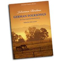 Johannes Brahms : German Folk Songs  : SATB : 01 Songbook : Johannes Brahms : 9780193856608 : 9780193856608