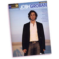Josh Groban : Pro Vocal Series : Solo : Songbook & CD :  : 884088191719 : 1423447026 : 00740371
