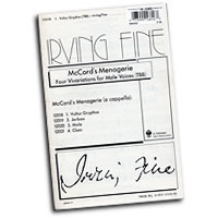 Irving Fine : McCord's Menagerie : TBB 3 Parts : Sheet Music : Irving Fine