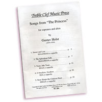 Gustav Holst : The Princess : SSAA : Sheet Music : TC-201