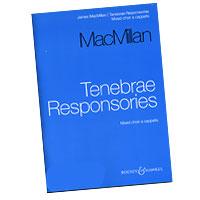 James MacMillan : Tenebrae Responsories : SSAATTBB : 01 Songbook : 884088270186 : 48019808