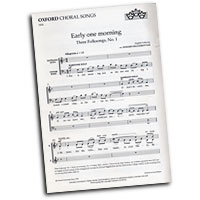 Edward Higginbottom : Three Folksongs : SATB : Sheet Music : Edward Higginbottom