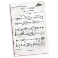 Jonathan Wilcocks : Three Sea Shanties : SATB : Sheet Music : X404