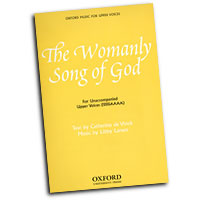 Libby Larsen : The Womanly Song of God : SSSSAAAA : 01 Songbook : Libby Larsen : 9780193867550 : 9780193867550