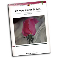 The Vocal Library : 12 Wedding Solos - Low Voice : Solo : Songbook & CD : 884088235345 : 1423436911 : 00001187