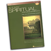 Richard Walters : 15 Easy Spiritual Arrangements - Low Voice : Solo : Songbook & CD : 073999361810 : 0634098462 : 00000392