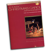 Richard Walters : 15 Easy Christmas Carol Arrangements - Low Voice : Solo : Songbook & CD :  : 884088085018 : 1423413377 : 00000460