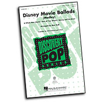 Mac Huff : Disney Movie Ballads (Medley) - Parts CD : Voicetrax CD : 884088558826 : 08552340