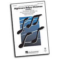 Various Arrangers : A Disney Christmas : SATB : Sheet Music