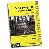 Various Arrangers : Baltic Songs for Upper Voices Vol 1 : SSA : 01 Songbook : 9790577010120 : EP72678
