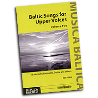 Various Arrangers : Baltic Songs for Upper Voices Vol 2 : SSAA : 01 Songbook : 9790577010137 : EP72679