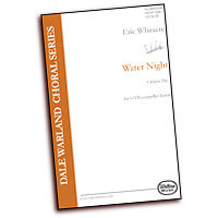 Eric Whitacre : Water Night - Parts CD : SSAATTBB : Parts CD : WA08-WN/MCD