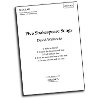 David Willcocks : Five Shakespeare Songs : Upper Voices - 3 par : Songbook : 9780193411920