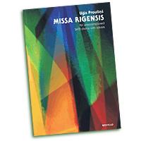 Ugis Praulins : Missa Rigensis (Riga Mass) : SATB : 01 Songbook : 884088671310 : 1780387350 : 14041546