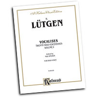 B. Lutgen : Vocalises: 20 Daily Exercises, Volume I : Solo : Vocal Warm Up Exercises :  : 029156177657  : 00-K09165