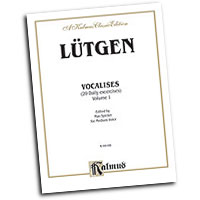 B. Lutgen : Vocalises: 20 Daily Exercises, Volume II : Solo : Vocal Warm Up Exercises :  : 029156013047  : 00-K09166