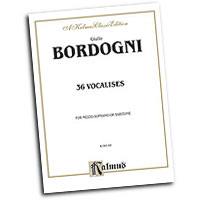 Marco Bordogni : Thirty-six Vocalises in Modern Style : Vocal Warm Up Exercises :  : 029156038682  : 00-K09149