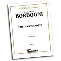 Marco Bordogni : Thirty-six Vocalises in Modern Style : Vocal Warm Up Exercises :  : 029156082586  : 00-K09148