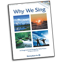 Greg Gilpin : Why We Sing - 10 Inspirational Songs for Solo Voice : Solo : Songbook & CD : 747510185857 : 1592351948 : 35025886