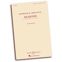 Dominick Argento : Seasons : SATB : 01 Songbook : Dominick Argento : 884088889203 : 1480333263 : 48022800
