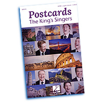 King's Singers : Postcards : SATBBB  : 01 Songbook : 888680094270 : 1495052567 : 00152725