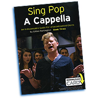 Gitika Partington : Sing Pop A Cappella Vol 3 : SATB : Songbook & Online Audio : 9781783058617 : 14043700