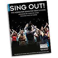 Mark De-Lisser : Sing Out! 5 Pop Songs For Today's Choirs - Book 3 : 3-Part Mixed : Songbook & Audio Download : 9781785580338 : 14043078