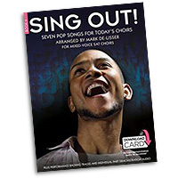 Mark De-Lisser : Sing Out! 7 Pop Songs For Today's Choirs - Book 4 : 3-Part Mixed : Songbook & Audio Download : 9781783056842 : 14043534
