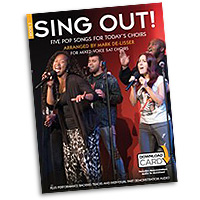 Mark De-Lisser : Sing Out! 5 Pop Songs For Today's Choirs - Book 5 : 3-Part Mixed : Songbook & Audio Download :  : 9781783059621 : 14043699