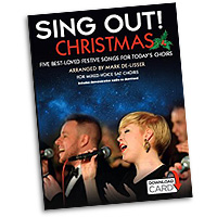Mark De-Lisser : Sing Out! Christmas : 3-Part Mixed : Songbook & Audio Download : 9781783056835 : 14043535