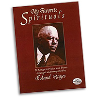 Roland Hayes : My Favorite Spirituals : Solo : 01 Songbook : 9780486417011 : 06-417018