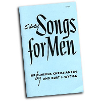 F. Melius Christiansen : Selected Songs For Men : TTBB : Songbook : 9780800648602