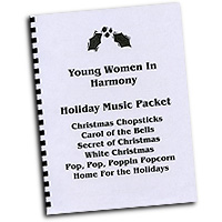 Various Arrangers : Young Women in Harmony Holiday Music : SSAA : 01 Songbook : 119