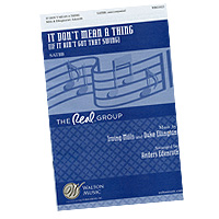 Real Group : Arrangements of The Real Group Vol 5 : Sheet Music :