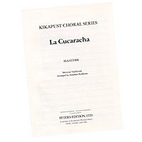 Jonathan Rathbone : La Cucaracha : SSAATTBB : Sheet Music : EP77035
