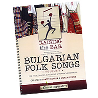 Mollie Stone : Bulgarian Folk Songs : Songbook & DVD