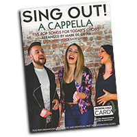 Mark De-Lisser : Sing Out! A Cappella : SATB : Songbook & Online Audio :  : 14048235