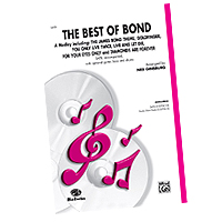Various Arrangers : James Bond - The Choral Music of 007 : SATB : Sheet Music :