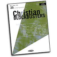 Various Artists : 25 Contemporary Christian Blockbusters : Solo : Songbook :  : 884088166410 : 1423431804 : 00309981