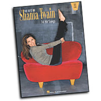 Shania Twain : The Best of Shania Twain : Solo : Songbook : 073999062854 : 0634004727 : 00306285