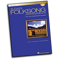 Various Composers : 15 Easy Folksong Arrangements - High Voice : Solo : Songbook & CD :  : 073999973921 : 0634077279 : 00740268