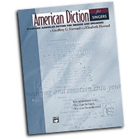 Geoffrey G. Forward : American Diction For Singers : 01 Book & 2 CDs :  : 038081190921  : 00-20201