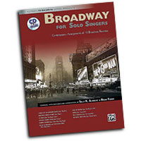 Sally K. Albrecht and Brian Fisher : Broadway for Solo Singers : Songbook & CD : Sally K. Albrecht :  : 038081311104  : 00-28566